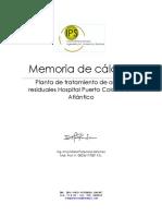 Memoria de Diseño PTAR
