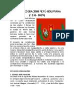 La Confederacion Peru-boliviana 1836-1839 (1)