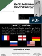 Historiografia en la posguerra