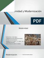 1. Modernidad y Modernizacion en Colombia