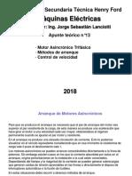 08-Máquina Asincrónica - Arranques