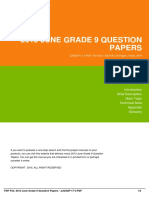 IDb51795e2f-2013 june grade 9 question papers