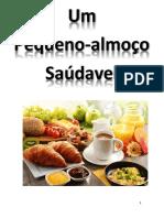 Area Multidisciplinar 7ºano Pequeno Almoço