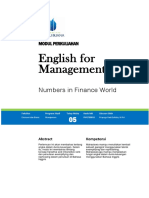 Modul English for Management [TM5]
