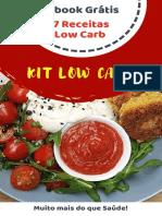 7 Receitas Low Carb