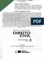 2016 - GAGLIANO - Novo Curso de Direito Civil Responsabilidade Civil, V. 3 1267-16 Sumario