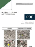 Carpeta Preliminar PROYECTO Posta Medica