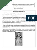 Leyenda de La Virgen de Andacollo