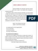 UNIDAD 5 ARREGLOS Y ARCHIVOS