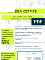 Ppt test Bender Koppitz