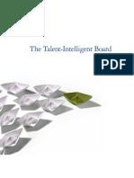 The talent intelligent board studioment