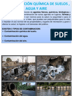 Contaminaciòn y Medio Ambiente