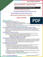 Current Affairs Pocket PDF - January 2019 14-30