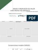 Modelo Canvas y Propuesta de Valor Para Proyectos 1.1
