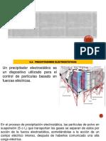 Precipitador electrostatico