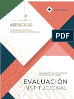 Evaluación Institucional Del Logro Educativo 2018-2019
