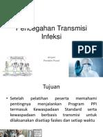 Pencegahan Transmisi Infeks IPCN2019