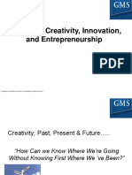 FileEnt Con & Iss Chapter 3 Creativity, Innovation, And Entrepreneurship