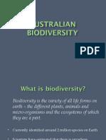 Australian Biodiversity