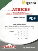 Cuzcano - Álgebra Matrices Teoría y Práctica