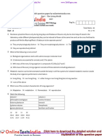 1 the Living World Neet Biology Model Question Paper