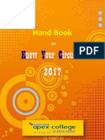 hand book on know your circular andhra bank promotion