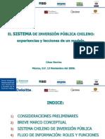sistema de inversion publica chilena