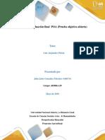 Trabajo Individual Post Tarea Evaluacion Final POA John Gonzalez Grupo 403006-129