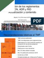 Interrelación RID ADR ADN