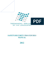 Safety Security Plan 2012