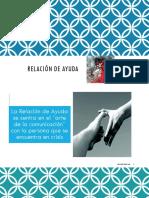 Clase RELACIÓN DE AYUDA