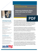 Addressing Multifamily Piping Losses with Solar Hot Water