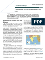 Engineering Properties and Shrinkage Limit of Swelling Soils in Greece 2157 7617 1000279