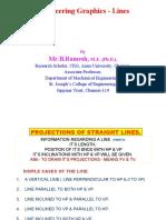 Engineering Graphics Lines