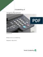background document - Imaging equipment