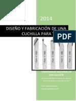 DISEÑO Y FABRICACIÓN DE UNA CUCHILLA PARA TORNEAR.pdf