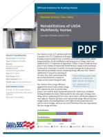 Rehabilitations of USDA Multifamily Homes