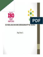 Materi ISO 45001 Dan SMK3 2018 Juli 2018-1