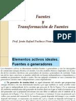 Fuentes y Transformacion de Fuentes