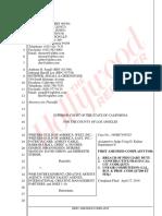 WGA v. WME, CAA, UTA, ICM - First Amended Complaint