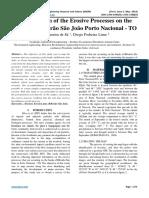 Identification of the Erosive Processes on the Banks of Ribeirão São João Porto Nacional - TO