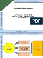 Cap. III.- Relaciones Volumetricas y Gravimetricas