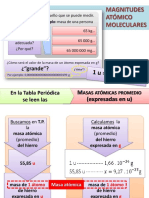 5. Magnitudes Atómico-moleculares