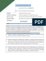 Funciones Coordinador de Proyecto AGRIADAPTA