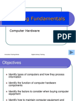 1 Computing Fundamentals - Hardware