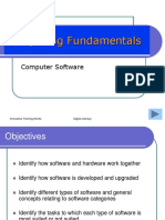 2 Computing Fundamentals - Software