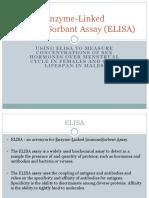 6d Enzyme Linked ImmunoSorbant Assay ELISA PowerPoint