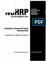 Evaluation Pavement Friction