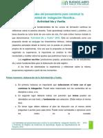 AIV y Protocolo de R.E.A. Las habilidades del pensamiento para construir la comunidad de  indagación filosófica .docx