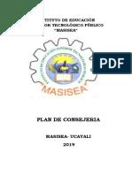 Plan de Consejeria Istp Masisea